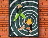 Minimalism Art - Green Ar...