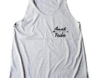 Aunt Tribe Shirt Pocket Tshirt Teen Funny Tees Teenage Gifts Tumblr Tank Quote Shirt Graphic Women Shirt Racerback Women Tank Top Teen Shirt