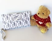 Nappy Wallet - Nappy Clutch - Diaper Wallet - Baby Shower - Monochrome