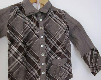 Daughter Michelle Bohemian style cotton shirt