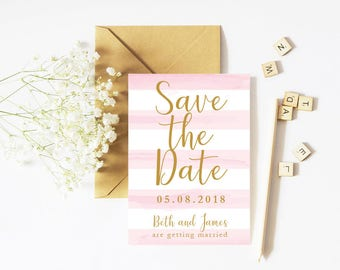Save The Date - Candy - Personalised
