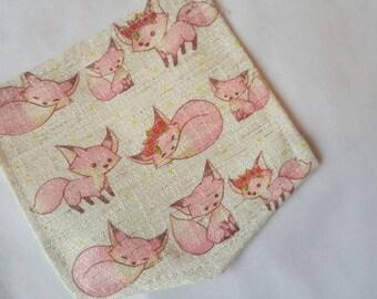Fox, pink, cute, womens tshirt, ladoes tshirt, custom shirt, woodland, custom clothing, gift for her, unique tshirt, birthday gift, gift her