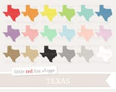 Texas Clipart, US State Clip Art, Texan Clipart, State Clipart, America Clipart, Icon Cute Digital Graphic Design Small Commercial Use