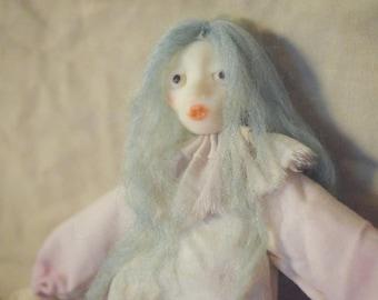 Corallina - Clown doll, unique, soft-body