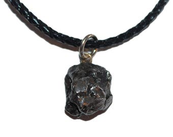 Meteorite jewellery etsy campo del cielo meteorite pendant necklace 9 12 grams in weight aloadofball Image collections