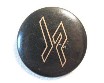 Vintage 80s Judas Priest - Priest Live Album (1987) JP Logo - Pin / Button / Badge
