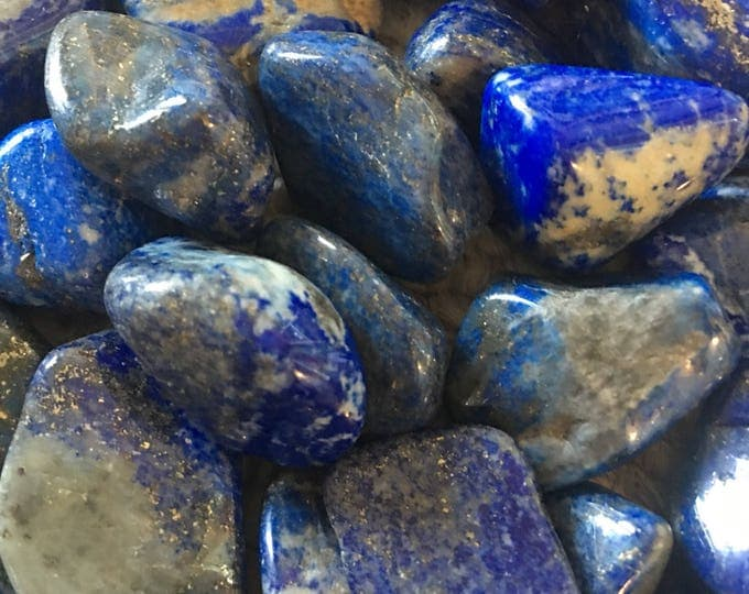Lapis Lazuli Grade A Tumbled Stone from Afghanistan