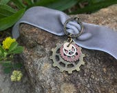 Steampunk Gears Choker Necklace // Steam Punk Fashion // Metal Gear Necklace // Steampunk Jewelry // Cosplay Accessory //