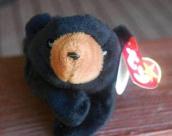 Beanie Baby Original - Blackie the Bear