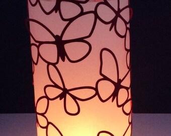 Flown Butterfly Tealight holder