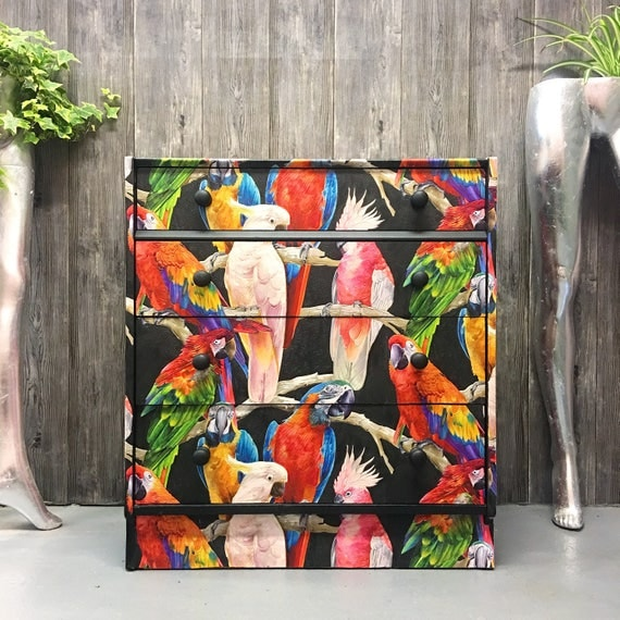 Parrot Gplan chest of drawers
