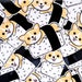 Corgi Vinyl Sticker, Sushi Vinyl Sticker, Vinyl Sticker, Dog Vinyl Sticker, Dog Stickers, Die Cut Sticker, Planner Sticker, Laptop Sticker