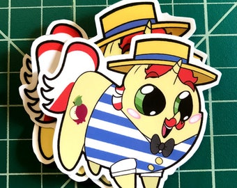 Pony Chubs! Flam Sticker