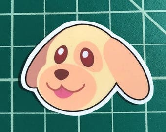 Animal Crossing Sticker | Goldie