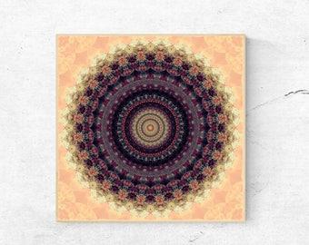 Mandala wall art print, Large wall art printable, Mandala art print, Digital download art, Large printable art, Mandala art, Mandala print