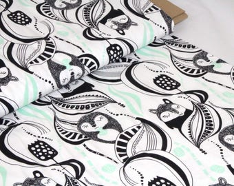 Organic Cotton Jersey Fabric | Paapii | Kuuru&Tuuri Mint
