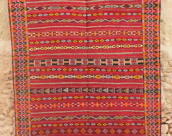 Small Zemmour Rug Handmade from Morocco