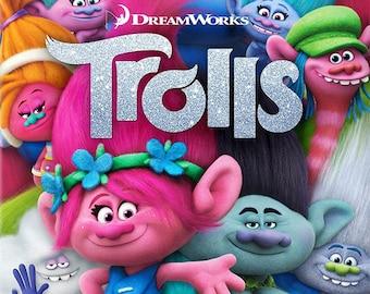 108  Trolls Clip Art -INSTANT DOWNLOAD -FOR cards, scrapbooking,digital art, printing, birthdays, party decor,invitation,paper