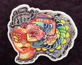 Trippy, Psychedelic, Vinyl Stickers, Art Stickers
