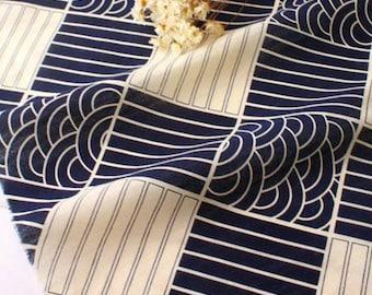 fabric cotton stripe blue white clothing 3 m