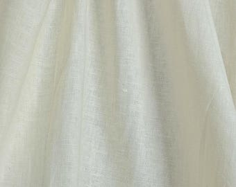 linen fabric cotton beige single color light 3 m
