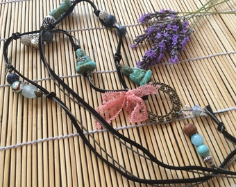 Necklace romantic zen Buddha