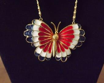 Carl Art Butterfly Necklace