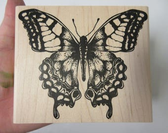 Tim Holtz Butterfly Rubber Stamp-Butterfly Stamps-Spring Stamps-Stampers Anonymous Stamps