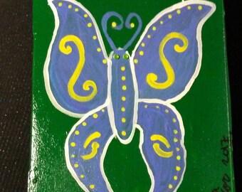 Celtic Fantasy Handpainted Box