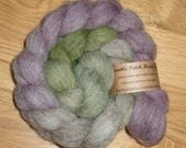 Hand Dyed Shetland British Wool Combed Top for Spinning or Felting 100g