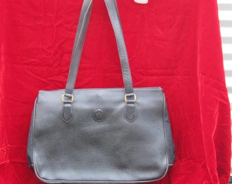Mark Cross Leather Satchel, Vintage Mark Cross