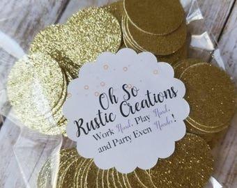 Gold Glitter Confetti... Party Decorations... Baby Girl... Baby Shower... Happy Birthday... Baby Boy.... Bridal Shower... Wedding