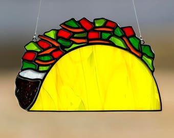 Glass Taco Etsy
