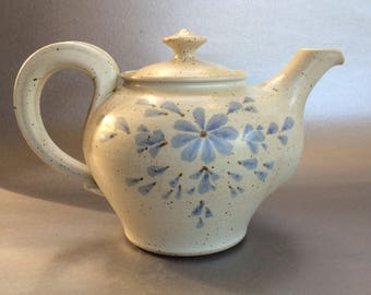 Signed Vintage Studio Pottery Handmade Teapot