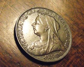1897 Great Britain Farthing...#3867 KM#788.2