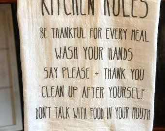 Kitchen Rules - Kitchen Towel