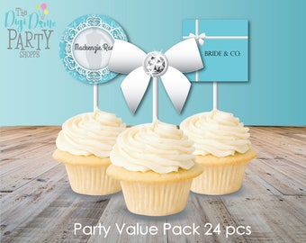 Tiffanys Party Printables Value Pack, Instant Download