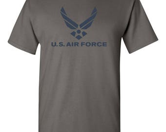 US Air Force Logo American Military USAF Men's Tee Shirt 1659
