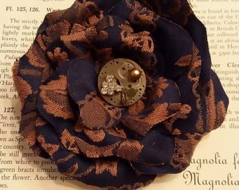 Gorgeous Floral Brooch/Clip