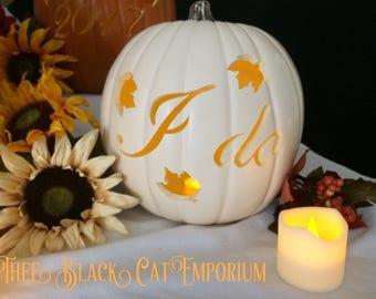 I do Wedding pumpkin