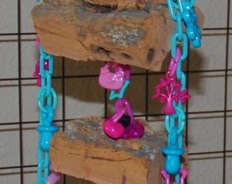 Mini Waterfall Cork Bark Toy