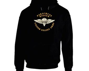 Army - Parachute Rigger Metal V1 - Hoodie