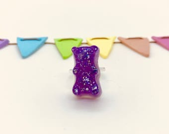Gummy Bear (Actual Size) Ring