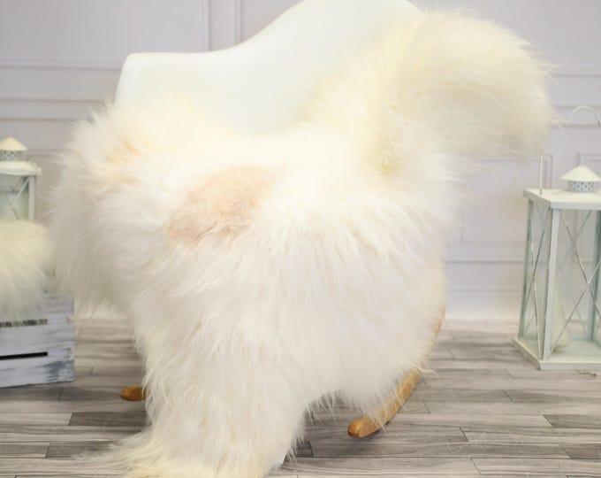 Icelandic Large Sheepskin   Real Sheepskin Rug   Ivory Sheepskin Rug   Fur Rug    Home decor #JANISL36