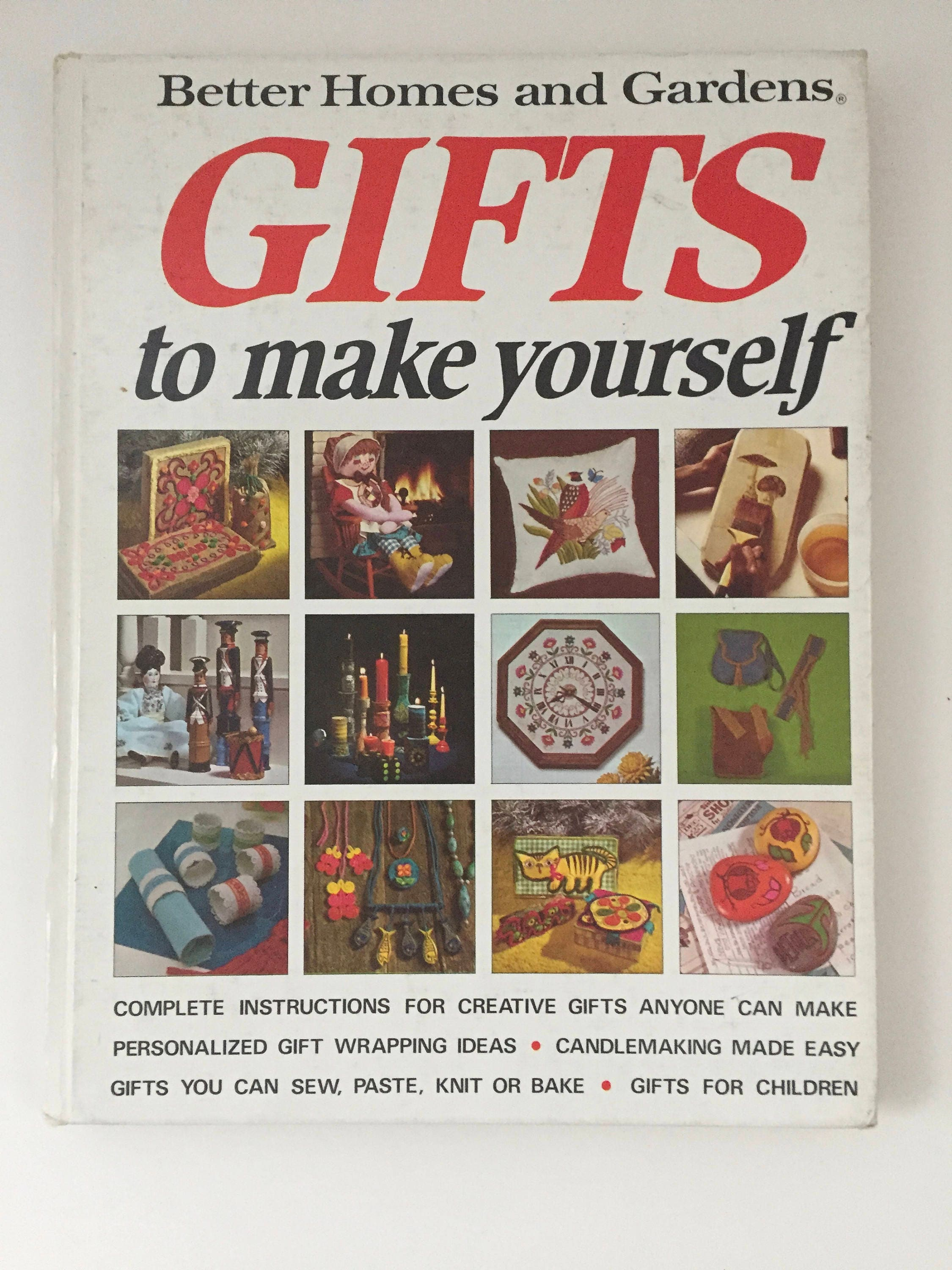 Better homes and gardens gifts to make yourself vintage craft sold by madmamavintage solutioingenieria Gallery