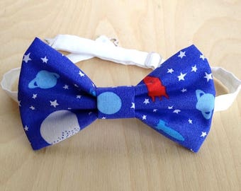 Galaxy bowtie. Men's bow tie. Blue Bow Tie.Boys and toddlers Bowtie