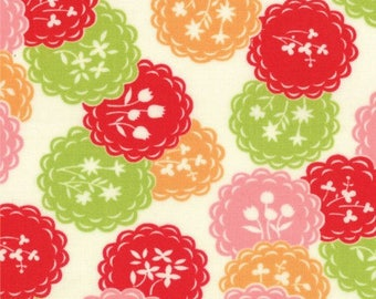Scrumptious Orange Dainty by Bonnie and Camille for Moda Fat Quarter OOP HTF