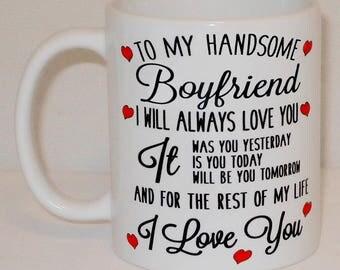 Boyfriend Mug | Etsy