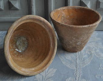 French Resin Pots Antique French Pots Small Terracotta