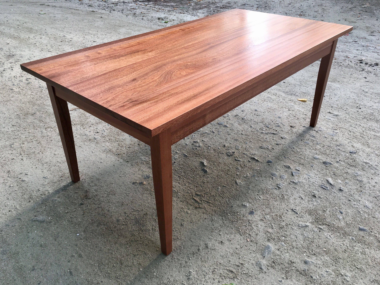 Solid Sapele Mahogany Coffee Table